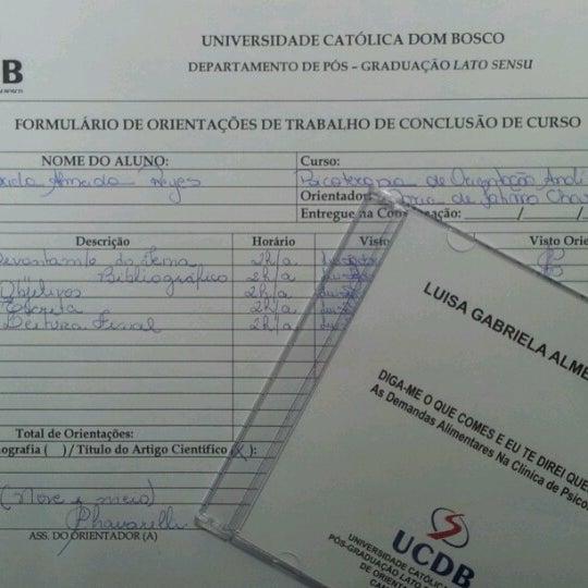 Photos At Ucdb Universidade Catolica Dom Bosco 3 Tips From 332