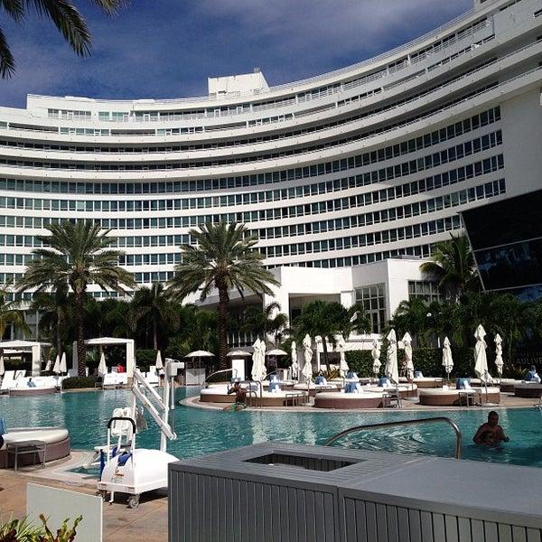 Photo prise au Fontainebleau Miami Beach par Oliveira J. le9/5/2013