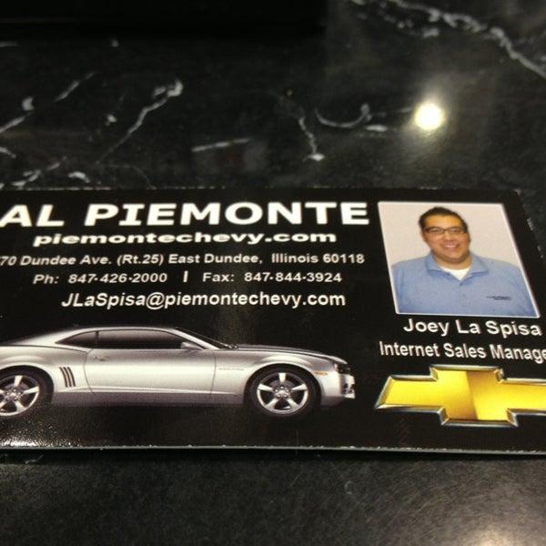 Al Piemonte Chevy >> Al Piemonte Chevy 1 Tip From 92 Visitors