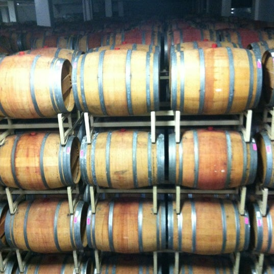 Das Foto wurde bei Artesa Vineyards & Winery von Shiree D. am 12/17/2012 aufgenommen