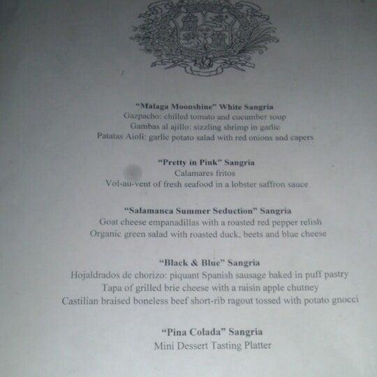 Foto scattata a Tasca Spanish Tapas Restaurant & Bar da Sean P. il 6/25/2013