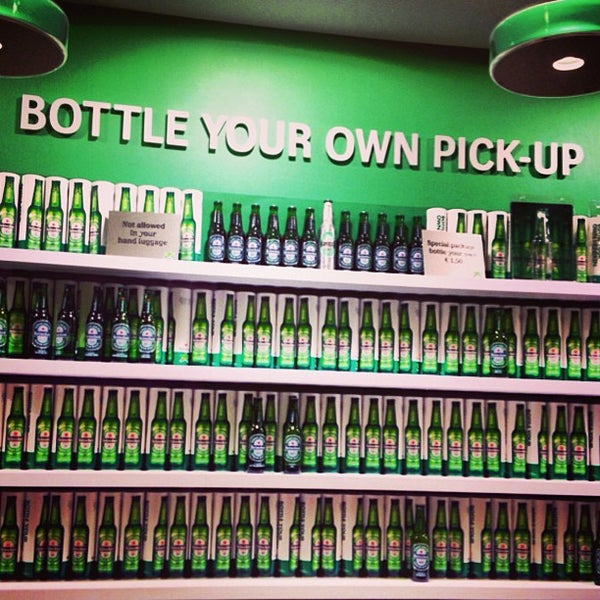 6/6/2013 tarihinde Jessica S.ziyaretçi tarafından Heineken Experience'de çekilen fotoğraf