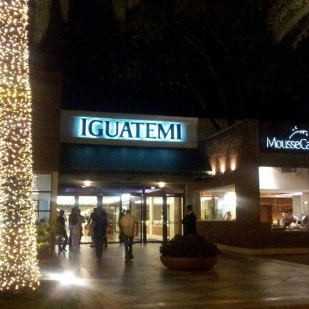 Das Foto wurde bei Shopping Iguatemi von Claudia G. am 11/30/2012 aufgenommen
