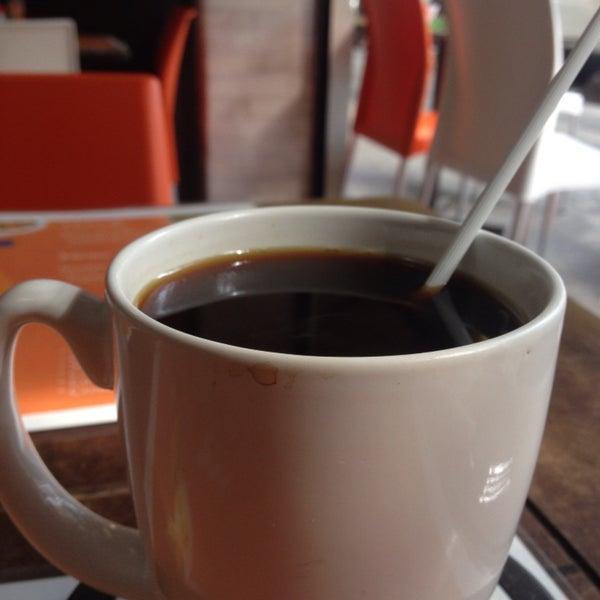 Los desayunos acompañados de un delicioso café campesino. Sin ser colombiano me sentí como en casa