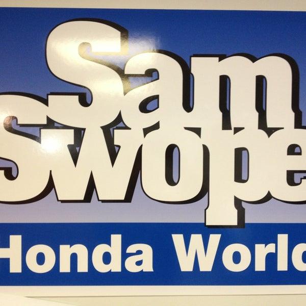Sam Swope Honda >> Honda World East Louisville 1 Swope Autocenter Drive