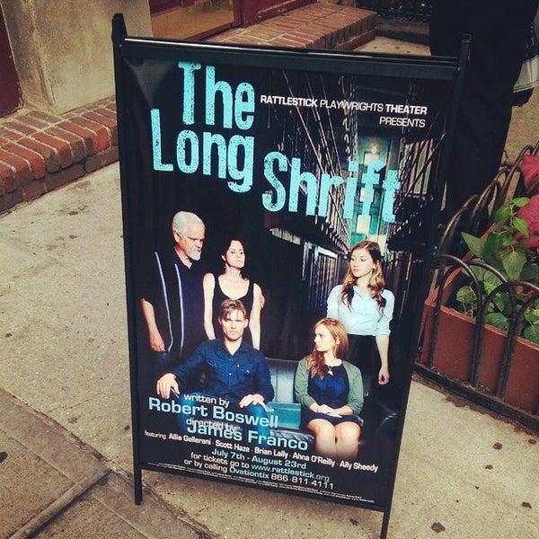 7/14/2014にJenn P.がRattlestick Playwrights Theaterで撮った写真