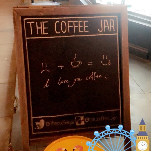 Foto tirada no(a) The Coffee Jar por Sara AlShowaier .. em 1/2/2019