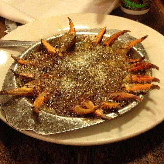 Photo taken at Mandina's Restaurant by Christina C. on 12/18/2012