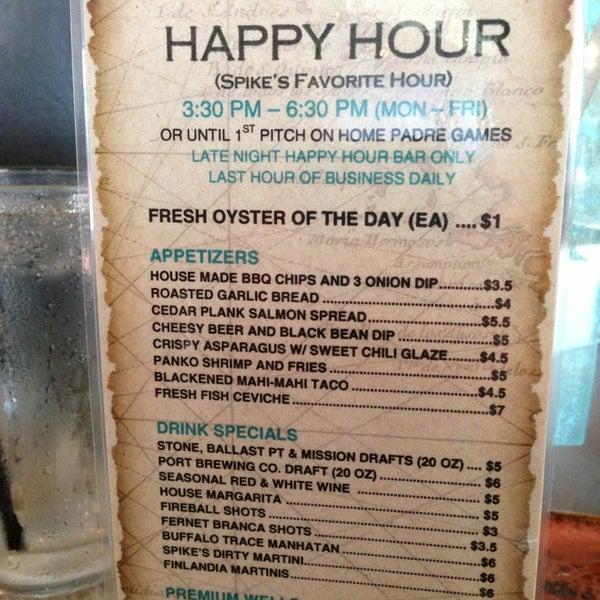 Foto tirada no(a) Spike Africa's Fresh Fish Bar & Grill por Melonie G. em 6/18/2013