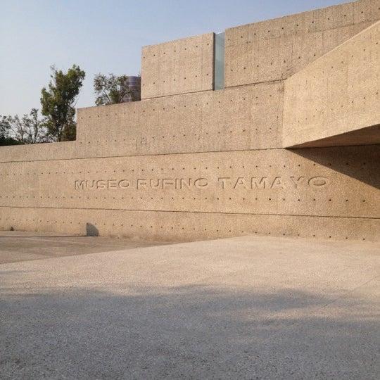 11/11/2012 tarihinde Ingrid T.ziyaretçi tarafından Museo Tamayo'de çekilen fotoğraf