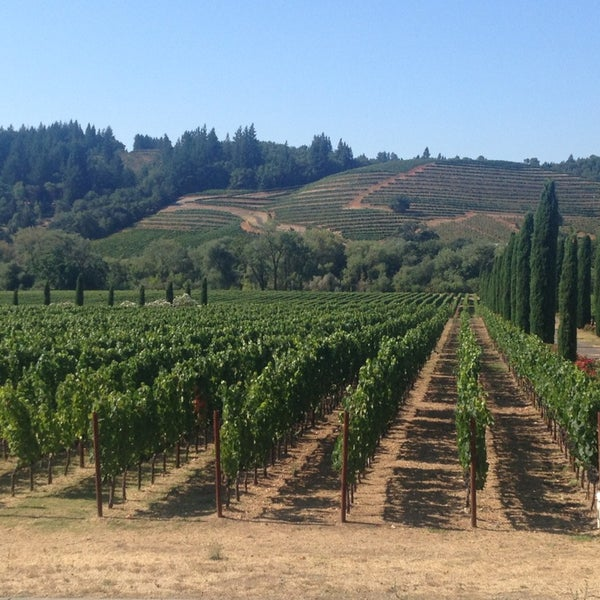 Ferrari,Carano Vineyards \u0026 Winery , Healdsburg, CA