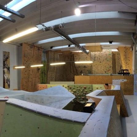 Photo taken at Lezecké centrum Vertigo by Marian J. on 10 25 2014 161fb7ade80