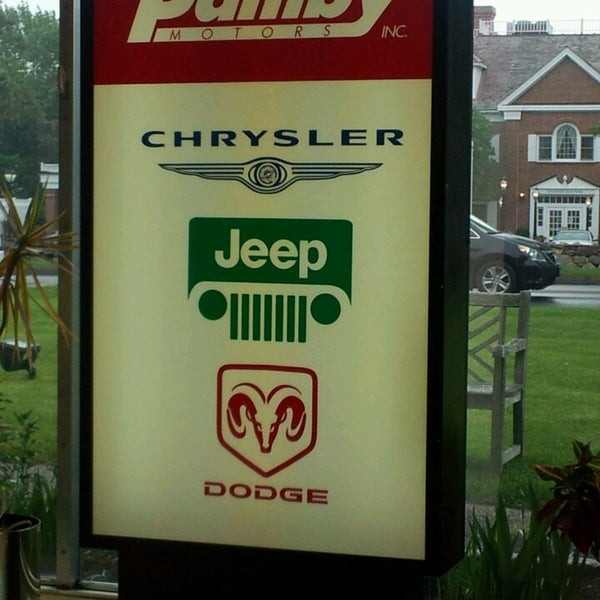Photo taken at Pamby Chrysler Jeep Dodge by Ellen H. on 5/23/