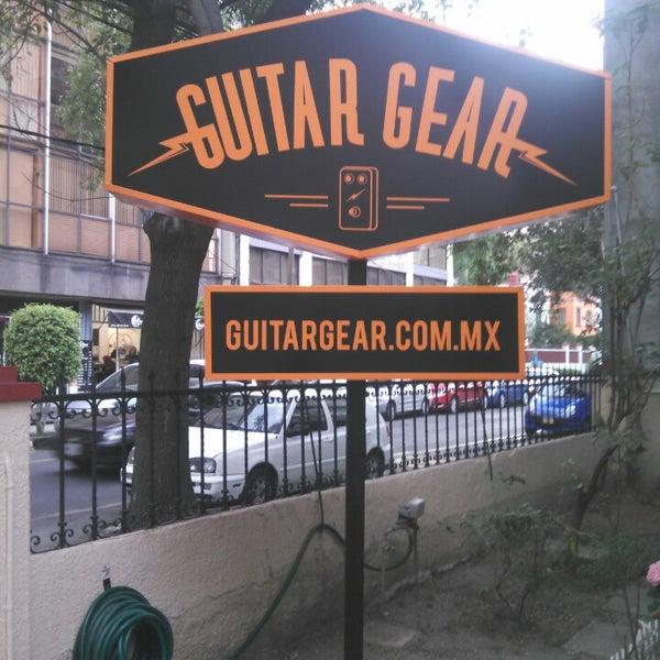 Un paraíso para guitarristas!!