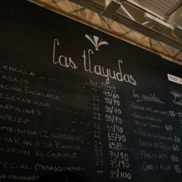 Das Foto wurde bei Las Tlayudas - Comida Casual Oaxaqueña von Casiviani F. am 7/19/2013 aufgenommen