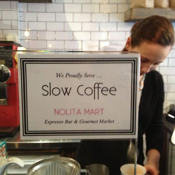5/25/2013にTracy F.がNolita Mart & Espresso Barで撮った写真