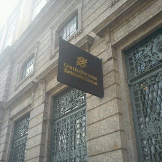 Photo taken at Centro Cultural Banco do Brasil (CCBB) by Anderson S. on 2/16/2013