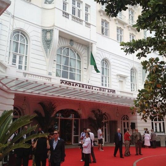 Das Foto wurde bei Belmond Copacabana Palace von Rafael C. am 12/12/2012 aufgenommen
