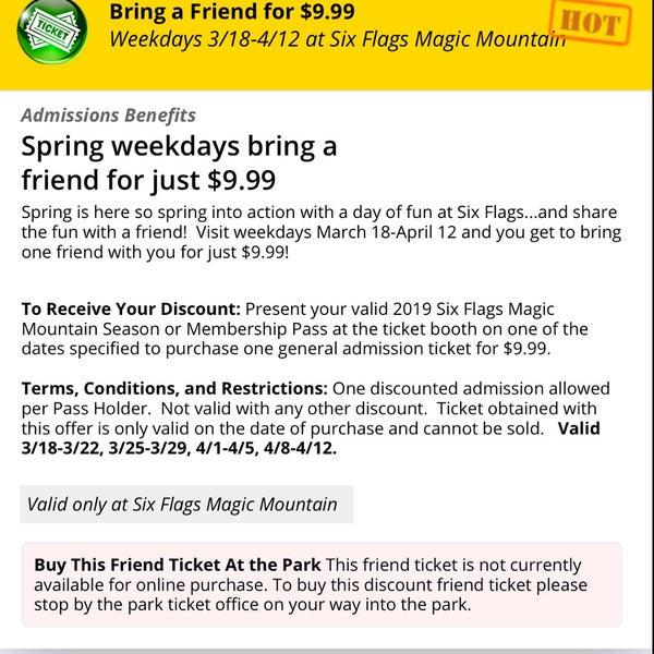 Photos at Six Flags Magic Mountain Flash Pass Bathroom