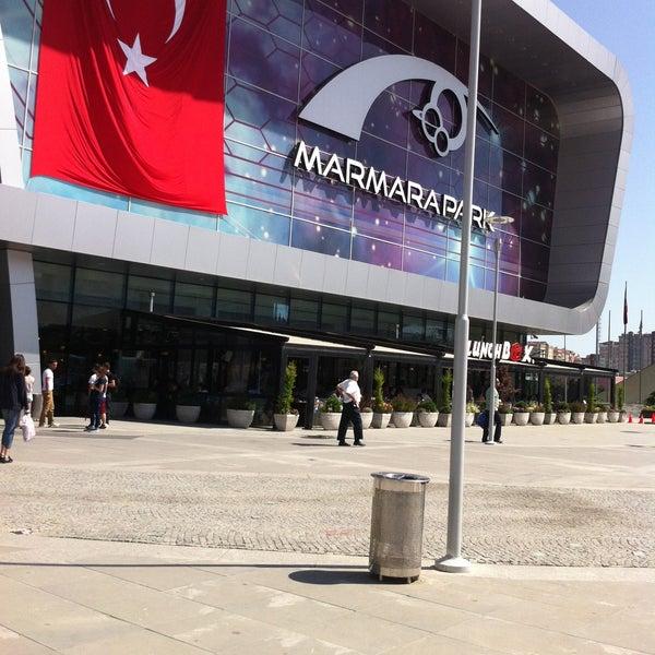 Снимок сделан в Marmara Park пользователем Abdurrahman B. 5/18/2013