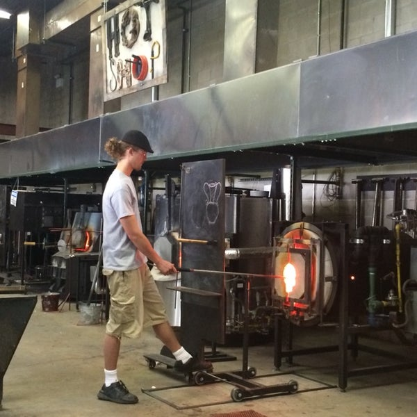 A glass blowing studio that focuses on education. Their glasswork is amazing! Try to check out a demo if you can!