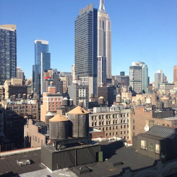 6/4/2013 tarihinde Brad L.ziyaretçi tarafından Hilton New York Fashion District'de çekilen fotoğraf
