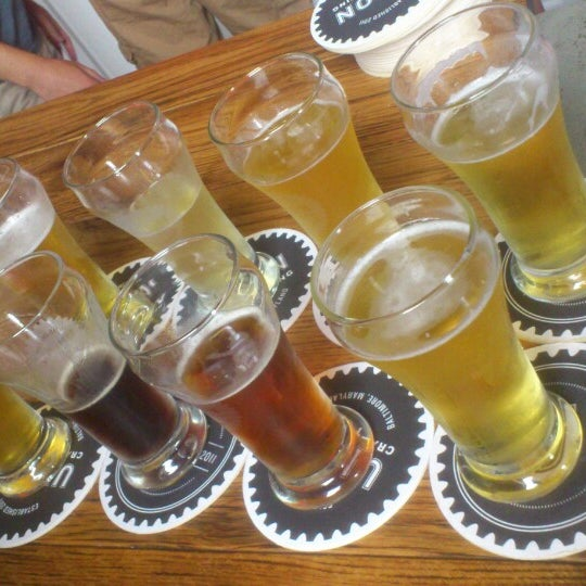 Photo taken at Union Craft Brewing by Rodger K. on 5/16/2015