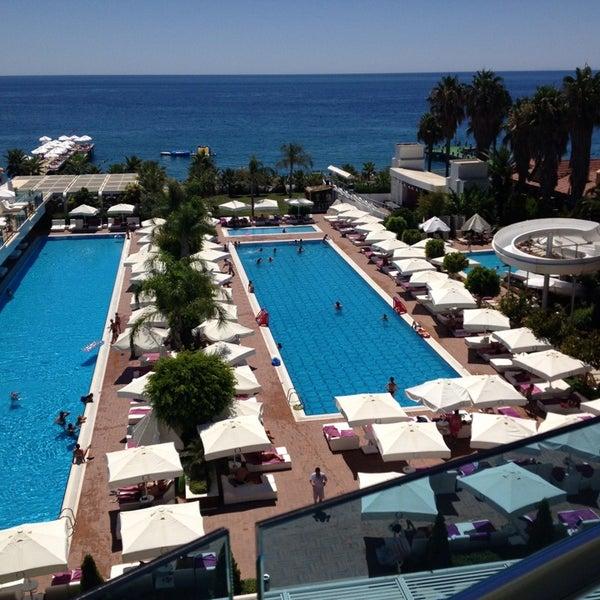 8/6/2013 tarihinde Aziz K.ziyaretçi tarafından Q Premium Resort Hotel Alanya'de çekilen fotoğraf