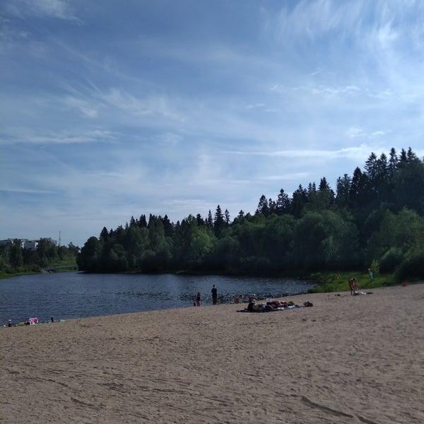 Das Foto wurde bei Pikkukosken uimaranta von Sami @. am 6/11/2018 aufgenommen