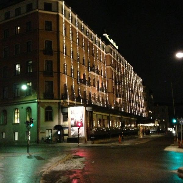Foto tirada no(a) Grand Hôtel Stockholm por Sultan A. em 1/7/2013