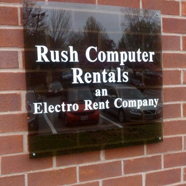 rush computer rentals/ an electro rent company