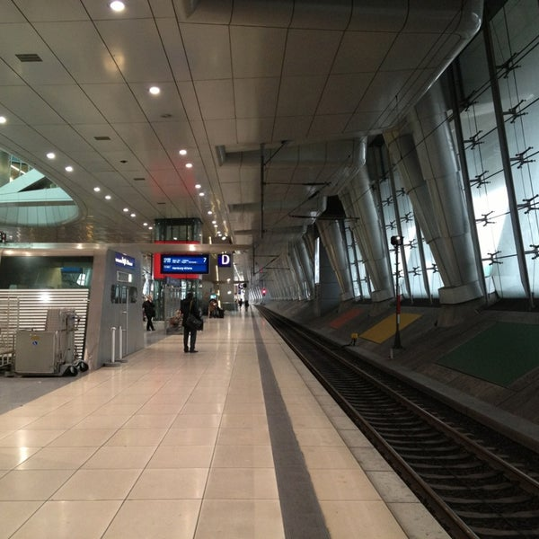 Gleis 6 7 Flughafen Frankfurt Am Main Hessen