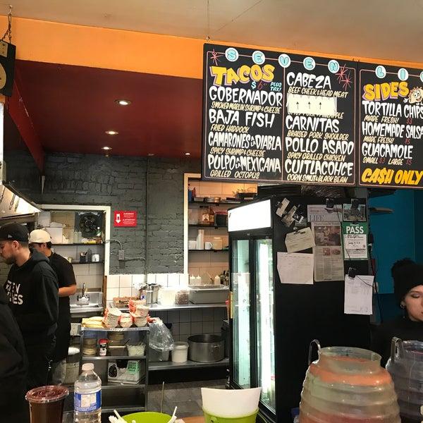 Photo prise au Seven Lives - Tacos y Mariscos par Armando V. le3/12/2019