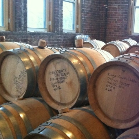 Foto scattata a Kings County Distillery da Rachel S. il 1/19/2013