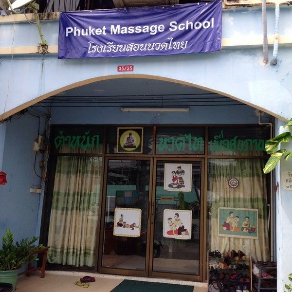 phuket massage school