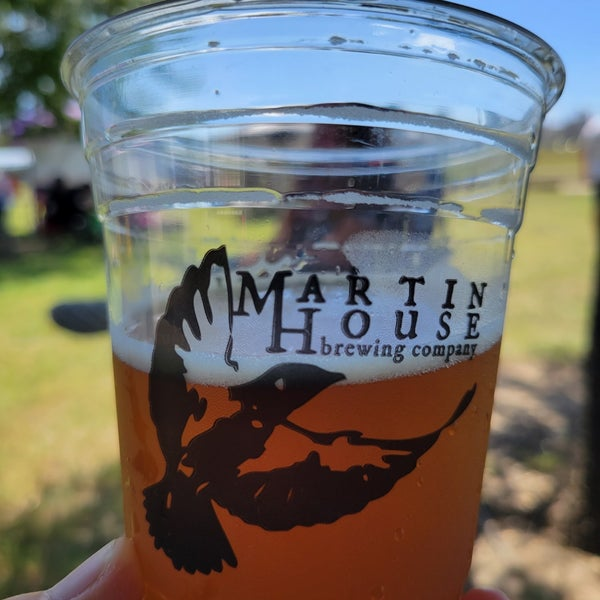 Photo taken at Martin House Brewing Company by Yo on 8/21/2021