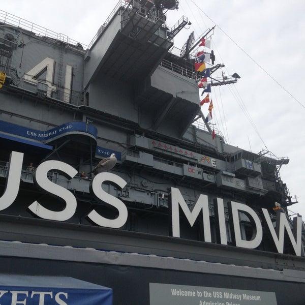 Foto tomada en USS Midway Museum por Fernando el 7/26/2013