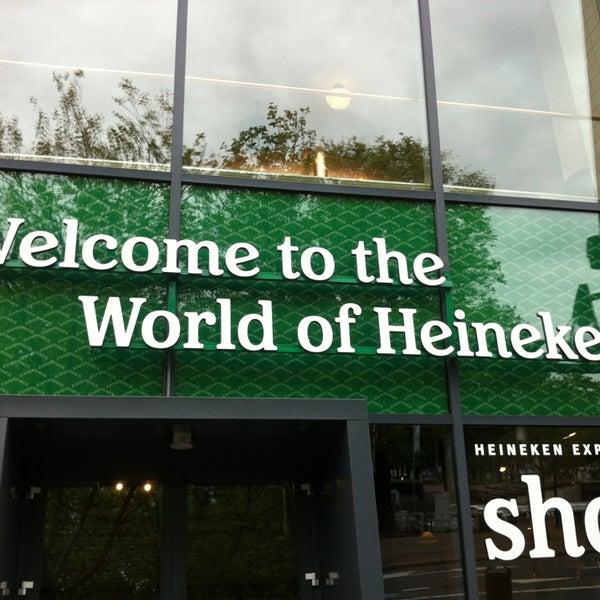 Das Foto wurde bei Heineken Experience von Yuriy T. am 6/29/2013 aufgenommen