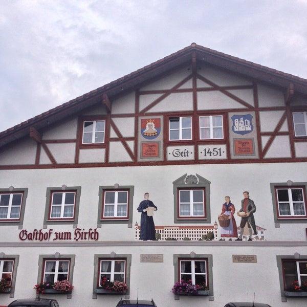 Foto tirada no(a) Gasthof Zum Hirsch por Phil B. em 8/11/2014