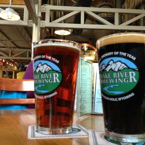 Das Foto wurde bei Snake River Brewery & Restaurant von Vegas U. am 10/3/2013 aufgenommen