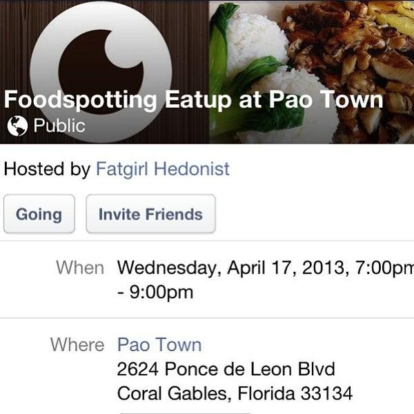 Das Foto wurde bei Pao Town von Fatgirl H. am 3/13/2013 aufgenommen