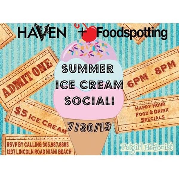 Foto tomada en HaVen Gastro-Lounge por Fatgirl H. el 7/18/2013