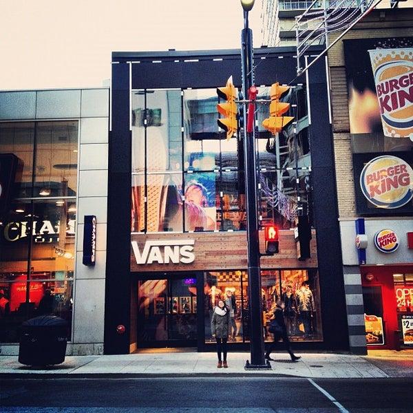 Vans - Shoe Store in Downtown Toronto