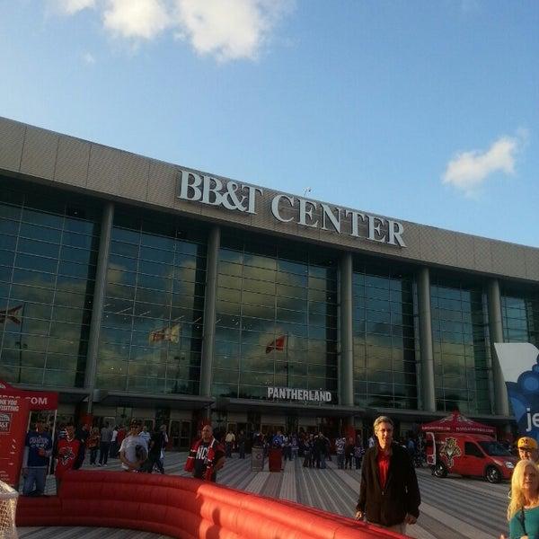Foto tirada no(a) BB&T Center por Nick S. em 4/23/2013