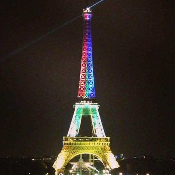 Photo prise au Place du Trocadéro par H B. le7/16/2013