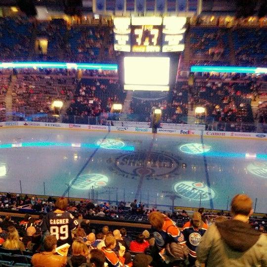 2/18/2013 tarihinde Maksim G.ziyaretçi tarafından Northlands Coliseum'de çekilen fotoğraf