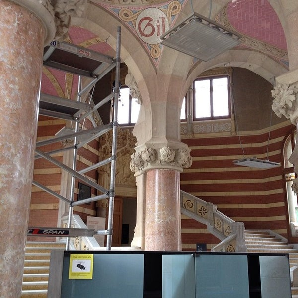 Foto tomada en Recinto Modernista de Sant Pau por Toni S. el 2/21/2014
