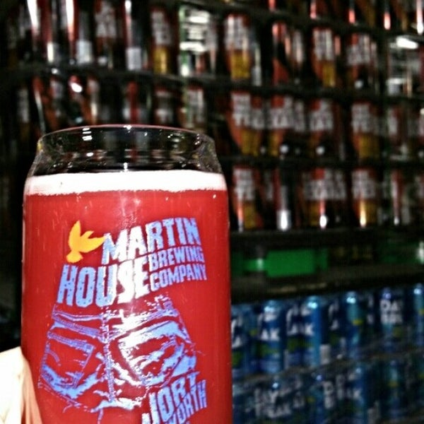 Photo taken at Martin House Brewing Company by Robert W. on 2/5/2016
