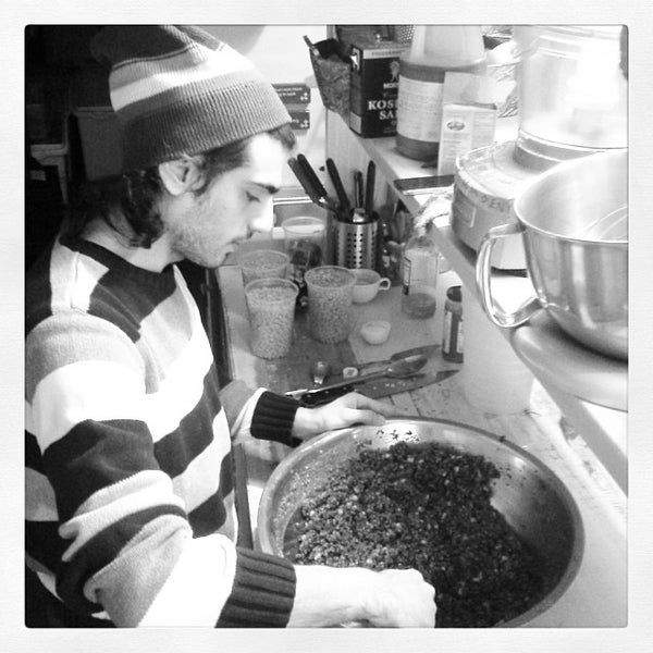 1/24/2014 tarihinde Tolga E.ziyaretçi tarafından Bedford Baking Studio'de çekilen fotoğraf
