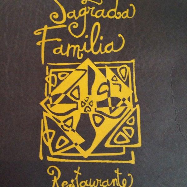 Foto tirada no(a) La Sagrada Família por Andreza M. em 4/4/2014